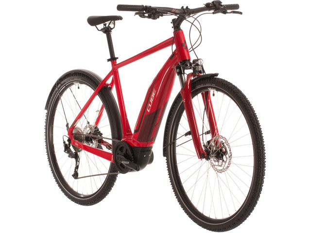Cube Nature Hybrid One 400 Allroad, red'n'red